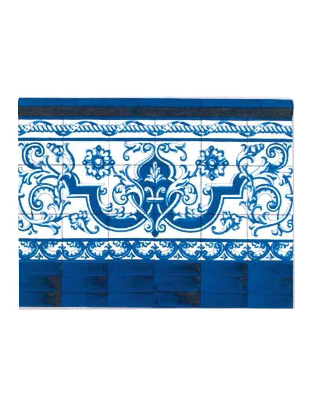 Z calo zahara artesan a sevilla - Zocalos de azulejos ...