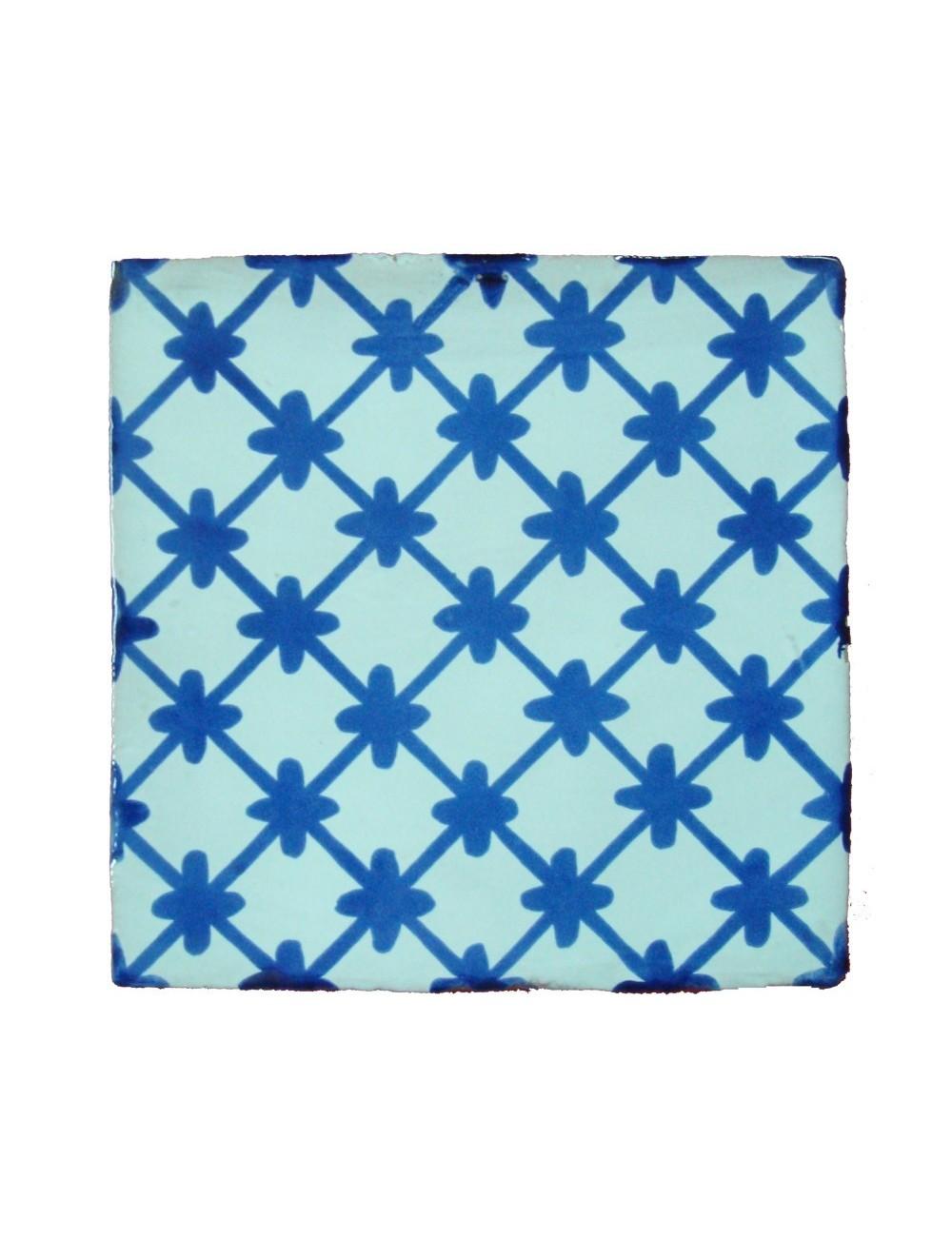 Az 15x15 h1511 artesan a sevilla - Azulejo blanco 15x15 ...
