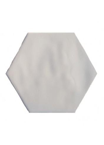 HEXAGON 16 CM RUSTIC WHITE